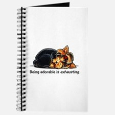 Yorkie Being Adorable Journal