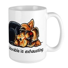 Yorkie Being Adorable Mug