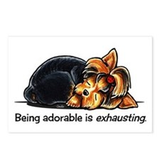 Yorkie Being Adorable Postcards (Package of 8)