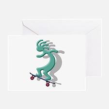 Skateboard Greeting Card