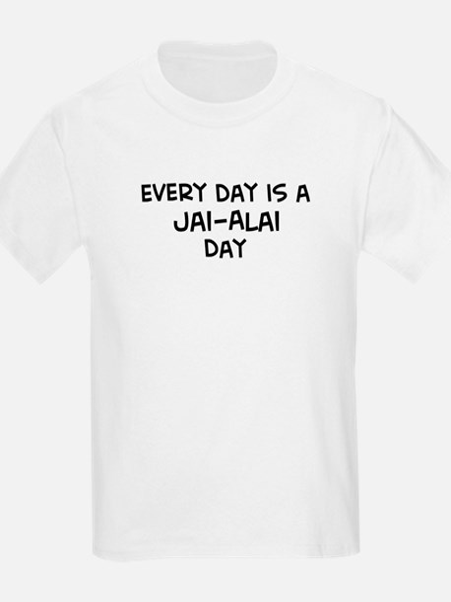 Jai-Alai day Kids T-Shirt