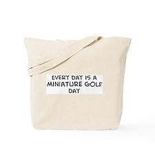 Miniature Golf day Tote Bag