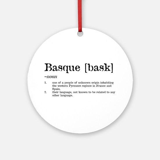 [bask] Ornament (Round)