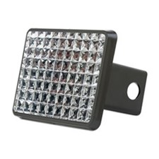 Square Diamond Bling Hitch Cover