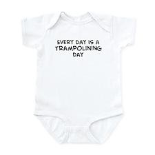 Trampolining day Infant Bodysuit