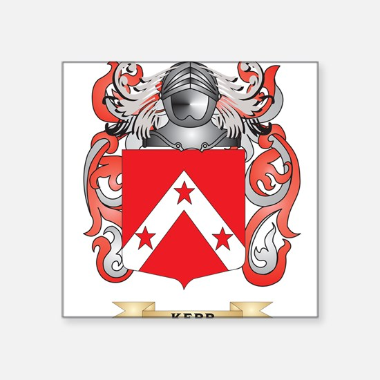 Kerr Coat of Arms (Family Crest) Sticker