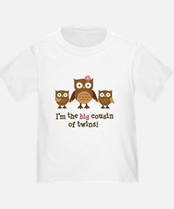 Big Cousin of Twins - Mod Owl T-Shirt