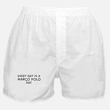 Marco Polo day Boxer Shorts