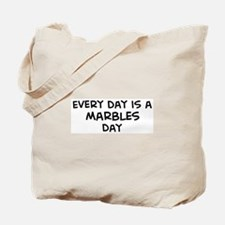Marbles day Tote Bag