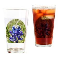 Bluebonnet Drinking Glass