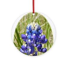 Bluebonnet Round Ornament