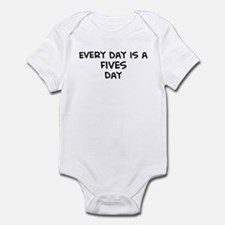 Fives day Infant Bodysuit