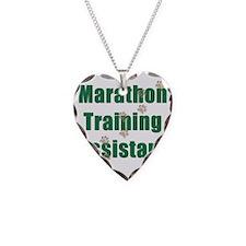 Marathon Training Assistant Necklace