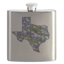 Texas Bluebonnets Flask