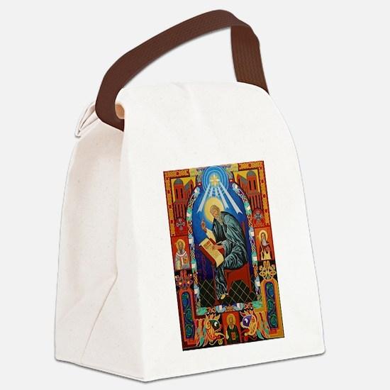 St. Bede Canvas Lunch Bag