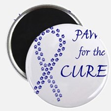 paw4cure_blue Magnet