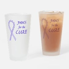 btn_paw4cure_pwkl Drinking Glass