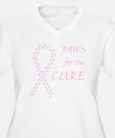 trp_paw4cure_pink T-Shirt
