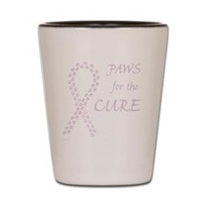 tile_paw4cure_orchid Shot Glass