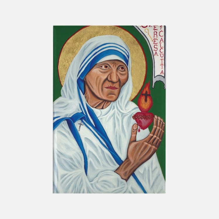 St. Teresa of Calcutta Rectangle Magnet