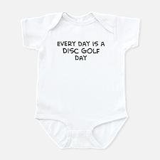 Disc Golf day Infant Bodysuit