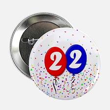 """22bdayballoon 2.25"""" Button"""