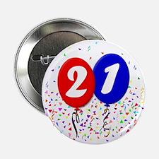 """21bdayballoon 2.25"""" Button"""