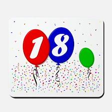 18bdayballoon3x4 Mousepad