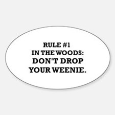 Funny Uncle quote Sticker (Oval)