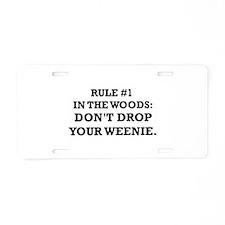 Funny Jase Aluminum License Plate
