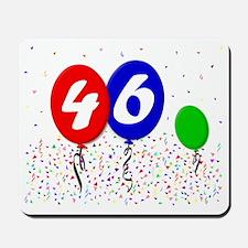 46bdayballoon3x4 Mousepad