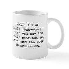 Mountain Man's Definition of a Nail Biter Mugs