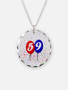 59bdayballoonbtn Necklace