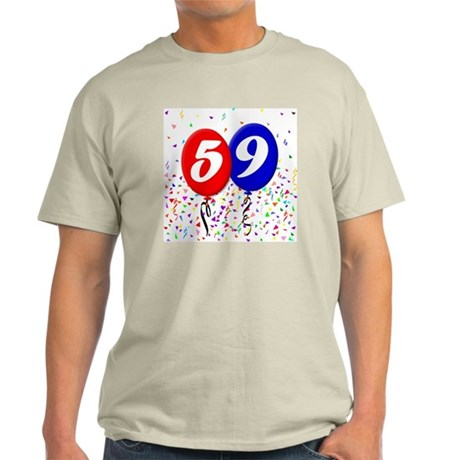 59bdayballoon Light T-Shirt
