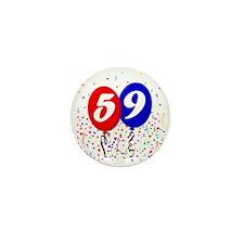59bdayballoon Mini Button
