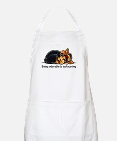Yorkie Being Adorable Apron