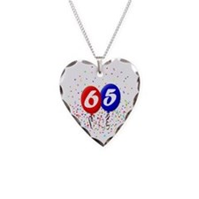 65bdayballoonbtn Necklace