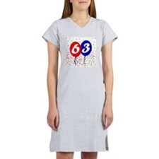 63bdayballoon Women's Nightshirt