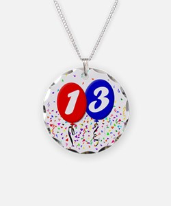 13bdayballoon Necklace