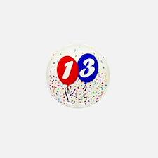 13bdayballoon Mini Button