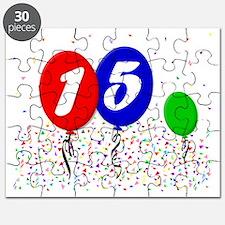 15bdayballoon3x4 Puzzle