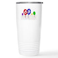 66bdayballoon2x3 Travel Mug