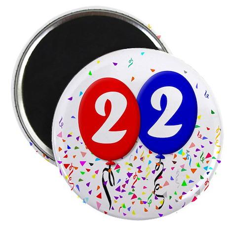 22bdayballoon Magnet