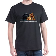 Yorkie Being Adorable T-Shirt