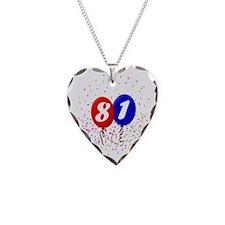 81bdayballoonbtn Necklace