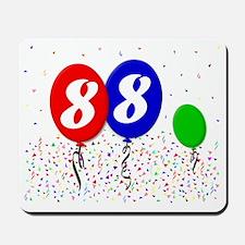 88bdayballoon3x4 Mousepad