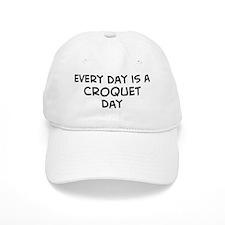 Croquet day Cap