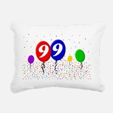 99bdayballoon2x3 Rectangular Canvas Pillow