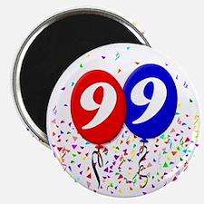 99bdayballoon Magnet