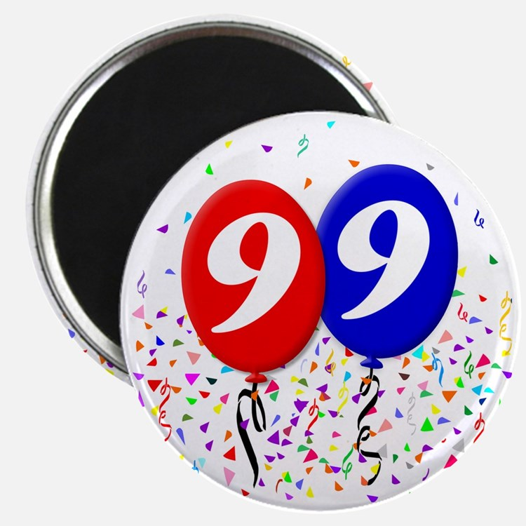 99bdayballoon Magnet